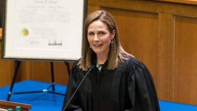 """صورة من هي مرشحة """"ترامب"""" للمحكمة العليا"""