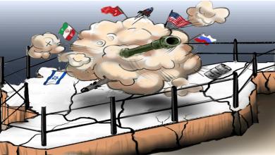 صورة صراع القوى على سوريا