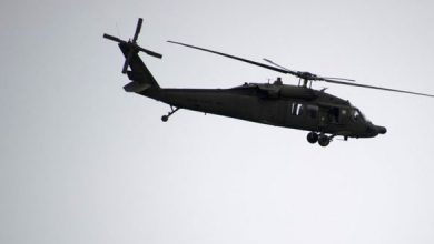 """صورة الجيش الأمريكي يكذب """"سانا"""" وينفي سقوط مروحيته"""