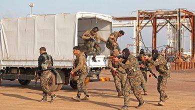 """صورة التحالف الدولي: تدمير مخابئ لـ """"داعش"""" جنوب الحسكة"""