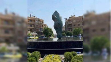 صورة محافظة دمشق تسرق رأس الحصان من لندن