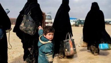 """صورة هروب 4 من نساء """"داعش"""" من مخيم الهول"""