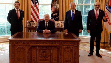 صورة نتنياهو يكشف عن مفهومه للسلام