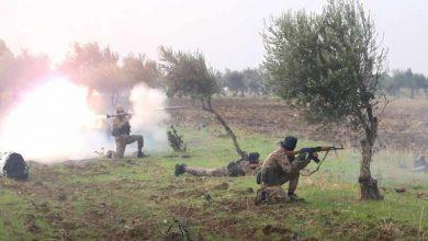 """صورة """"هتش"""" تفجر مستودع أسلحة للجيش السوري جنوب إدلب"""