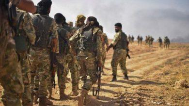 صورة حقيقة وصول مقاتلين سوريين إلى أذربيجان