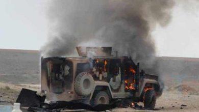 """صورة قتيلان من """"قسد"""" بانفجار عبوة ناسفة في دير الزور"""