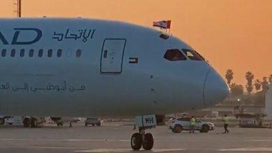صورة لأول مرة.. رحلة تجارية من الإمارات لإسرائيل