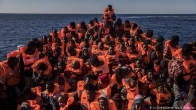 صورة قرار أممي يسمح باعتراض سفن المهاجرين من ليبيا