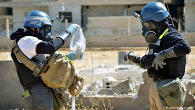 صورة تمديد العقوبات الأوروبية على سوريا لاستخدامها السلاح الكيماوي