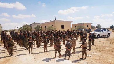 """صورة """"فيديو"""" يظهر مقاتلين سوريين في أذربيجان"""
