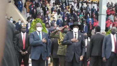 """صورة اتفاق """"تاريخي"""" بين السودان وحركات الجنوب المسلحة في جوبا"""