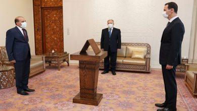 صورة محافظون جدد لمحافظات خارجة في معظمها عن سلطة الدولة السورية