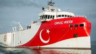 صورة مناورات بحرية تركية بالذخيرة الحية.. واليونان تسلح جزرها