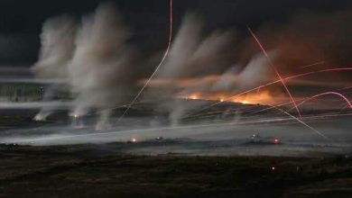 صورة مناورات ليلية لفصائل المعارضة السورية بتوجيه تركي