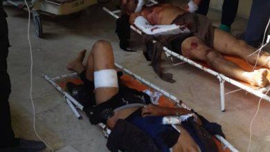 صورة رسائل روسية صاروخية إلى فيلق الشام.. وأنباء عن قتلى