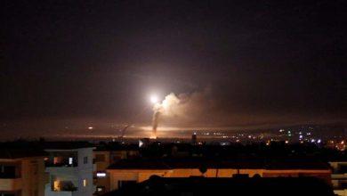 صورة إسرائيل تستهدف مواقع إيرانية في القنيطرة