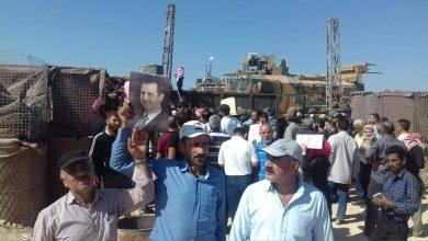 """صورة """"بعثيون"""" يرفضون التواجد التركي في سوريا"""