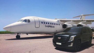 صورة طائرة خاصة تقل زوجة رامي مخلوف إلى دبي تشعل وسائل التواصل الاجتماعي