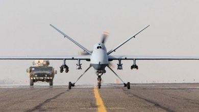 """صورة طيران التحالف يبحث عن """"حراس الدين"""" في سماء إدلب"""