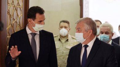 صورة لافرنتيف زار بغداد والأردن وانتهى بالأسد .. ماهدف الزيارة!