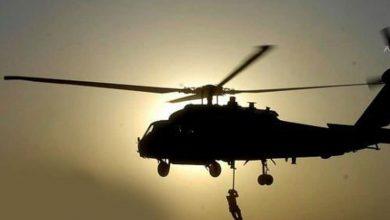 """صورة عمليات إنزال جوي لـ """"قسد"""" بحثاً عن """"داعش"""" في دير الزور"""