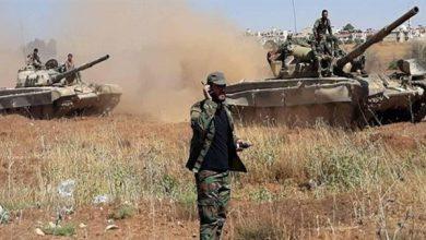 """صورة قصف متبادل في إدلب وتركيا تسير منفردة على الـ """"m4"""""""
