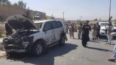 صورة مقتل 8 أشخاص في هجوم بسيارة مفخخة استهدفت حاكم ولاية أفغانية
