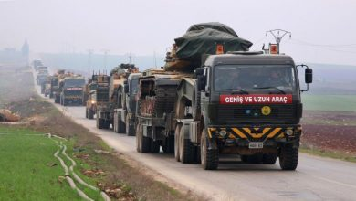 صورة نقطة مراقبة تركية سادسة تجاور قوات الأسد في كفرنبل