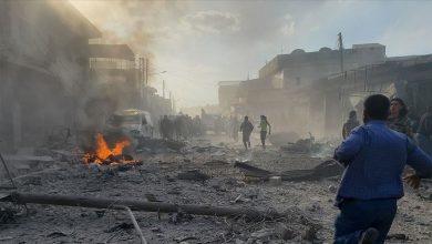 صورة مقتل 5 أشخاص بينهم ضابط في تفجير مدينة الباب