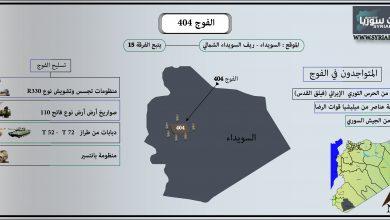 صورة الفوج 404 .. بوابة النفوذ العسكري الإيراني في السويداء