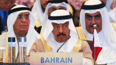صورة وفاة رئيس الوزراء البحريني
