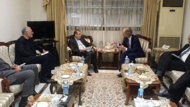 صورة بيدرسون في إيران لبحث الحل السياسي في سوريا