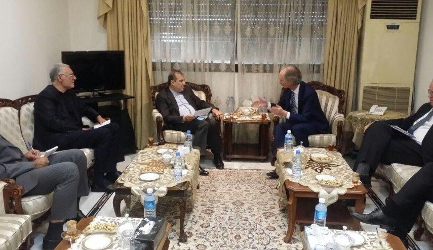بيدرسون في طهران