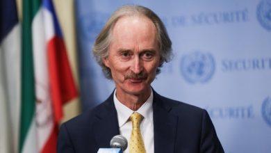 """صورة """"بيدرسون"""" في موسكو لبحث الملف السوري"""