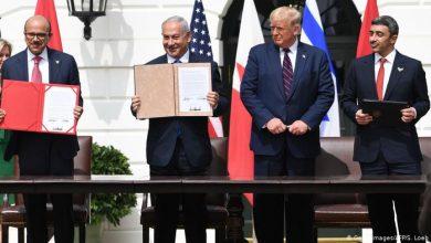 """صورة """"نتينياهو"""" و""""بن زايد"""" مرشحان لجائزة """"نوبل""""!!"""