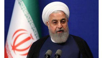"""صورة """"روحاني"""" يدعو """"بايد"""" لتصحيح مسار """"سياسة"""" أمريكا"""