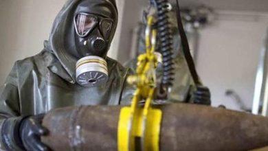 """صورة مزاعم روسية بنقل """"هتش"""" لغاز الكلور إلى جنوب إدلب"""