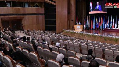 صورة انطلاق اليوم الثاني لمؤتمر اللاجئين السوريين في دمشق