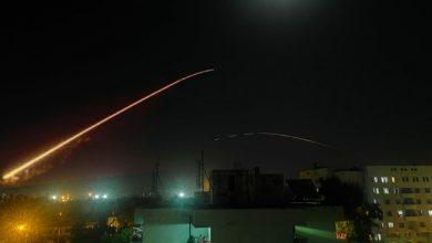 صورة قصف إسرائيلي على مواقع إيرانية في سوريا