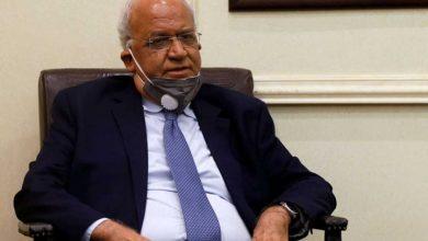 """صورة وفاة كبير المفاوضين الفلسطينيين متأثراً بفايروس """"كورونا"""""""