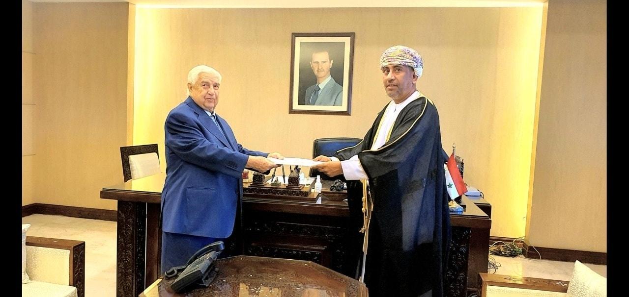السفير العماني تركي بن محمود البوسعيدي