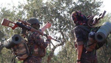 صورة جماعة مسلحة تتبنى استهداف قوات تركية في عفرين