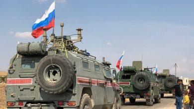 صورة دورية روسية تركية تدخل مناطق بالحسكة للمرة الأولى