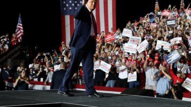 صورة ترامب: على الأمريكيين معرفة اسم الفائز اليوم