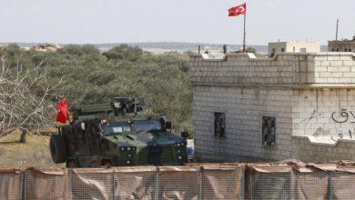 """صورة قصف تركي على مواقع """"قسد"""" في ريفي الرقة والحسكة"""