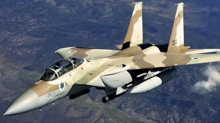 """طائرة """"F16"""" إسرائيلية"""