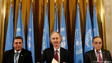 صورة انطلاق جولة جديدة من اجتماع اللجنة الدستورية في جنيف