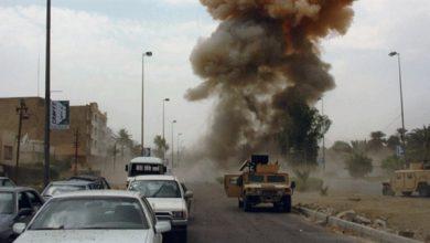 صورة مقتل وجرح ثمانية أشخاص بينهم ضابطان بهجوم في العراق