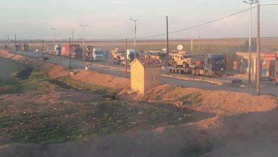 صورة تعزيزات عسكرية أمريكية جديدة إلى سوريا