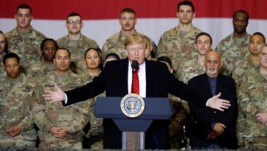 صورة ترامب يأمر بتخفيض قوات بلاده في العراق وأفغانستان
